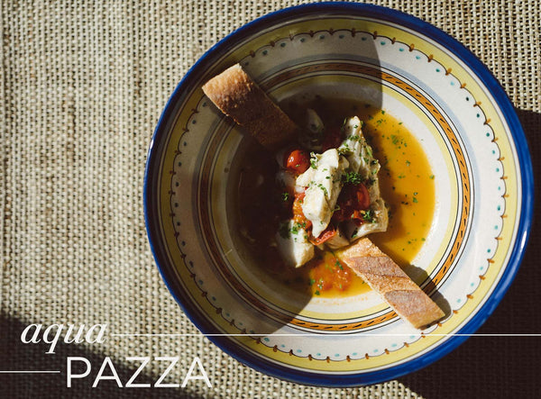 AQUA PAZZA | IN 5 STEPS