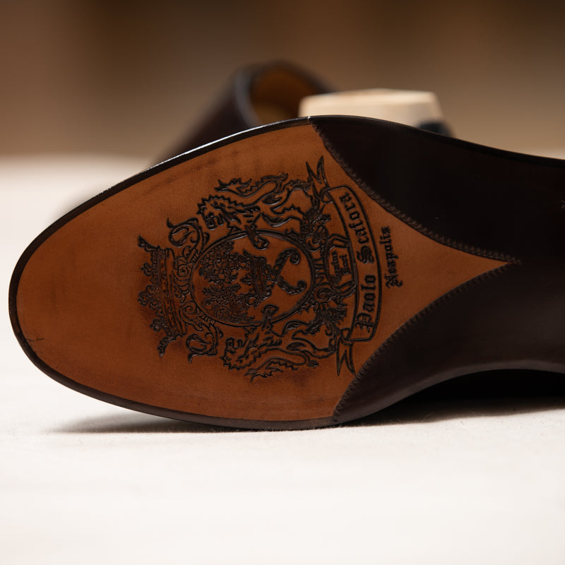 Hand crafted shoe
