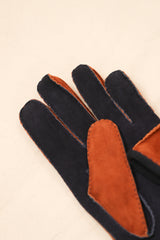 Damon Bi Color Suede Glove