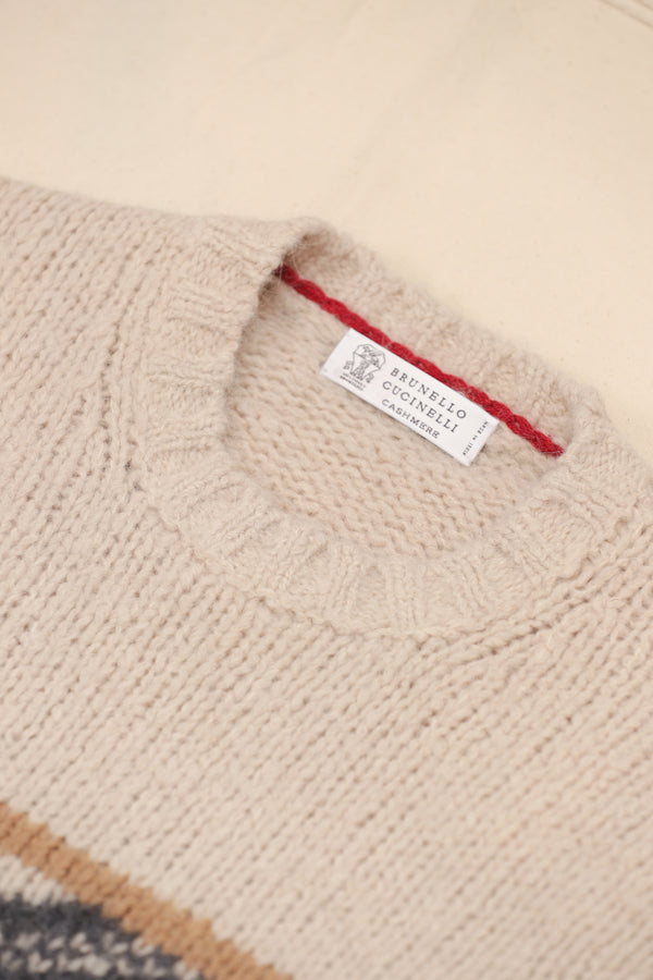 Cashmere Apres Crew Neck Sweater