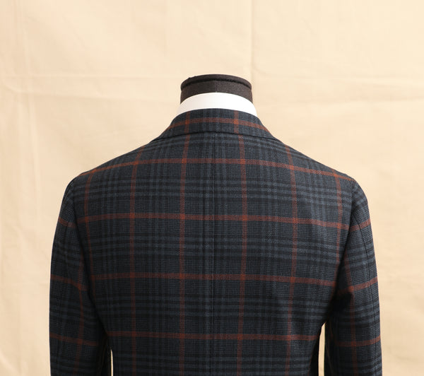 Wool Glencheck Sports Jacket