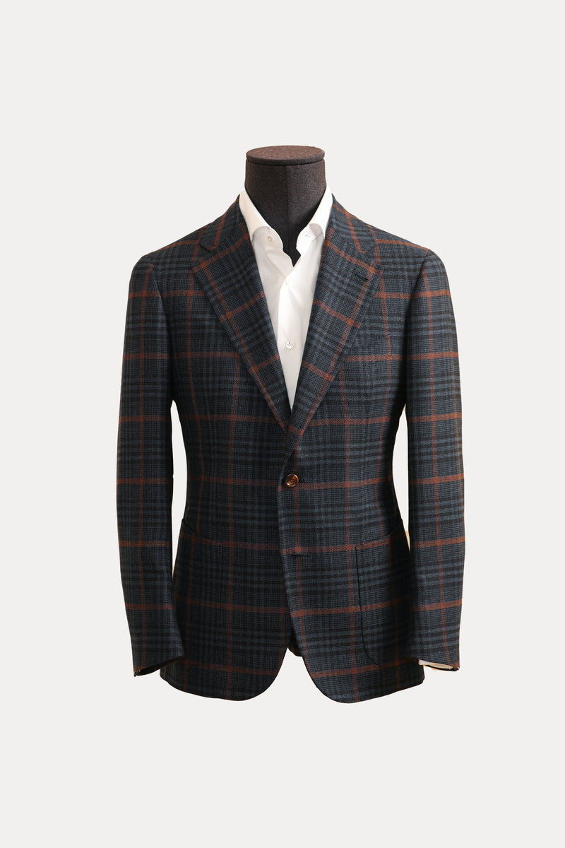 Auburn Windowpane Sports Jacket