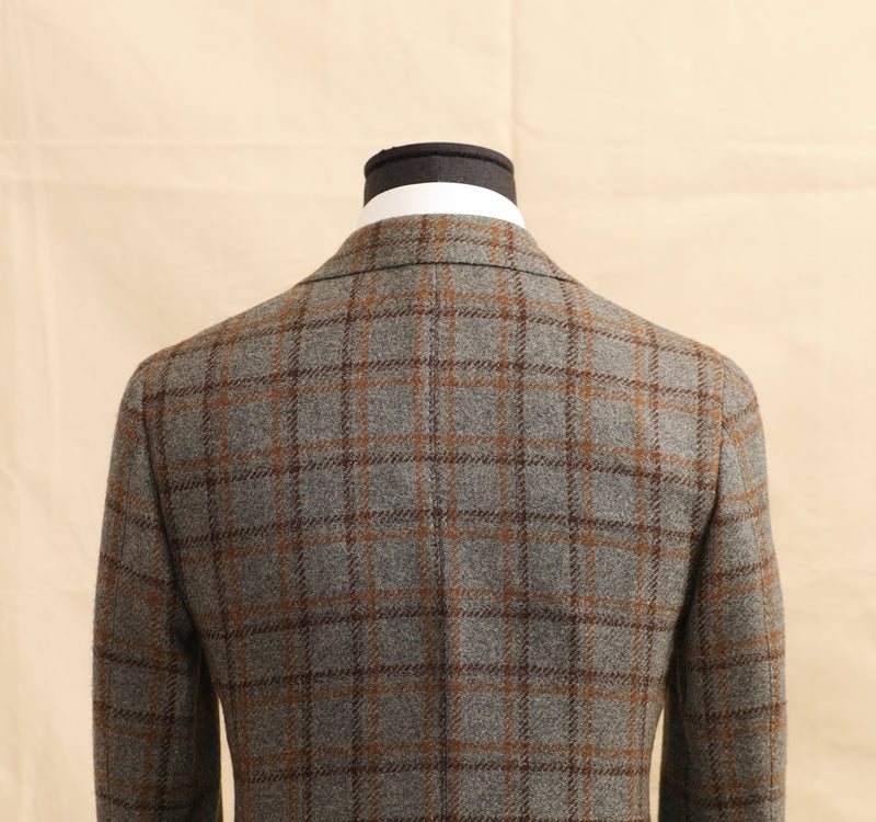Camelhair Windowpane Sports Jacket