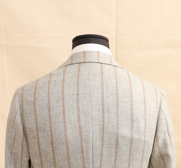 Tonal Stripe Soft Jacket