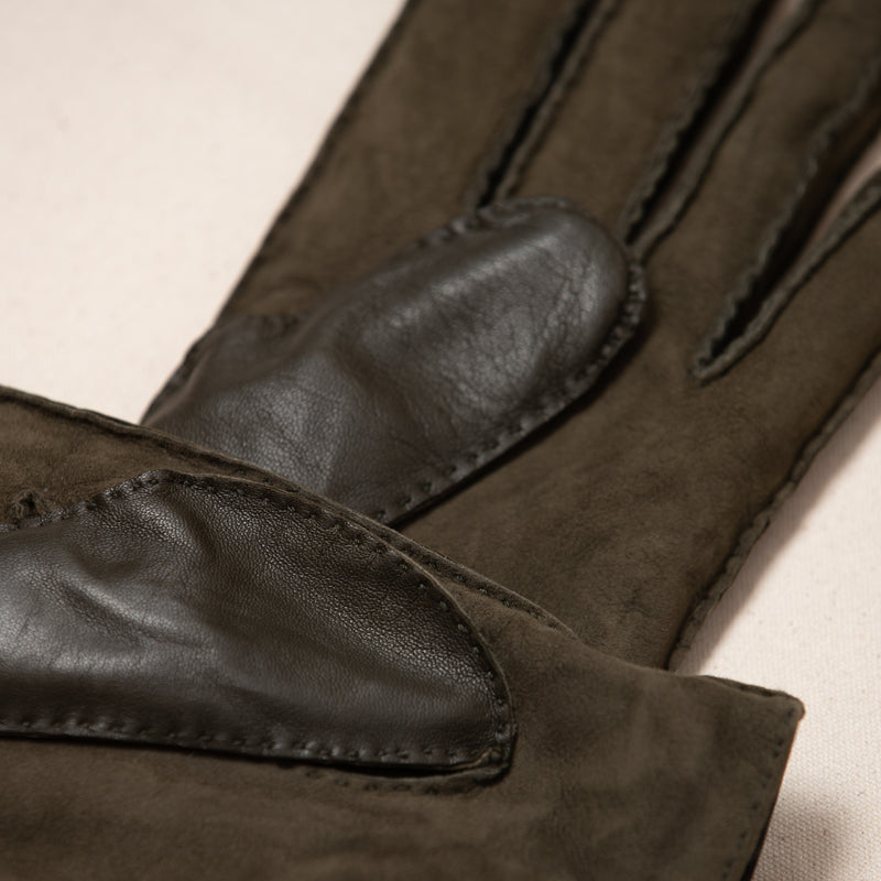 Cashmere Lined Suede Glove