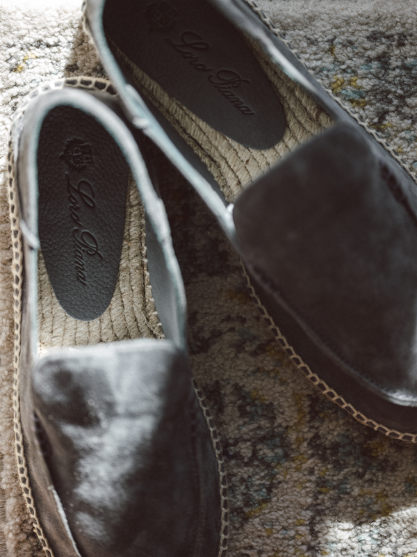 Suede Seaside Walk Espadrilles