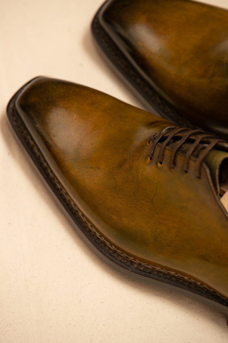 Leather Handcrafted Wholecut Shoe