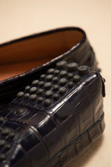 Crocodile Handcrafted Driving Shoe