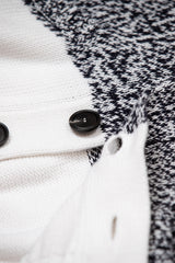 Cross Knit Shawl Cardigan