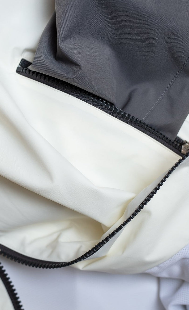 Zip Hooded Panama Track Jacket