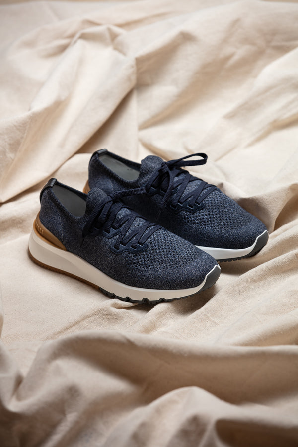 Cotton Knit Sneaker