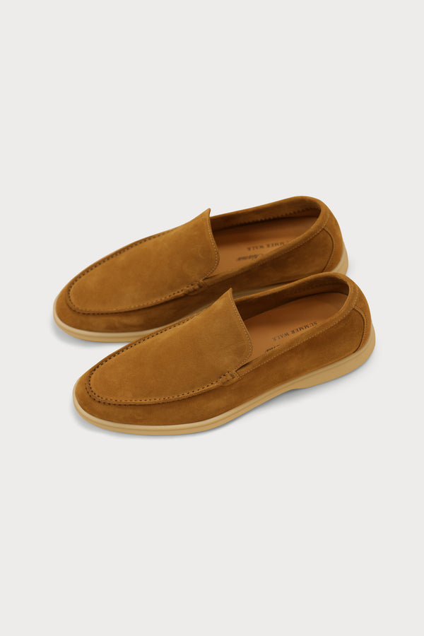 Suede Summer Walk Moccasin