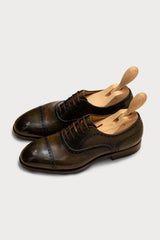 Leather Handcrafted Cap Toe Oxford Shoe