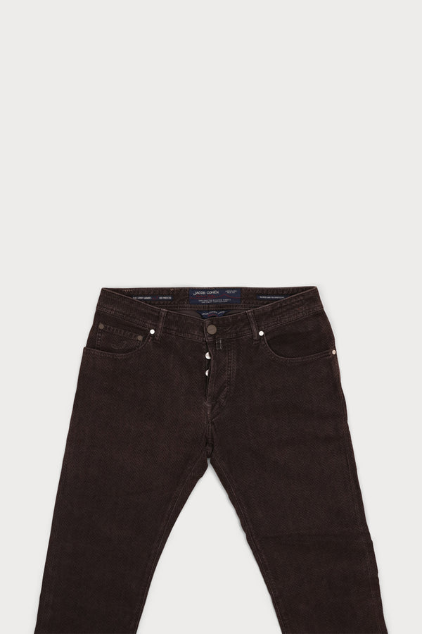 Plush Cotton Five Pocket Pant