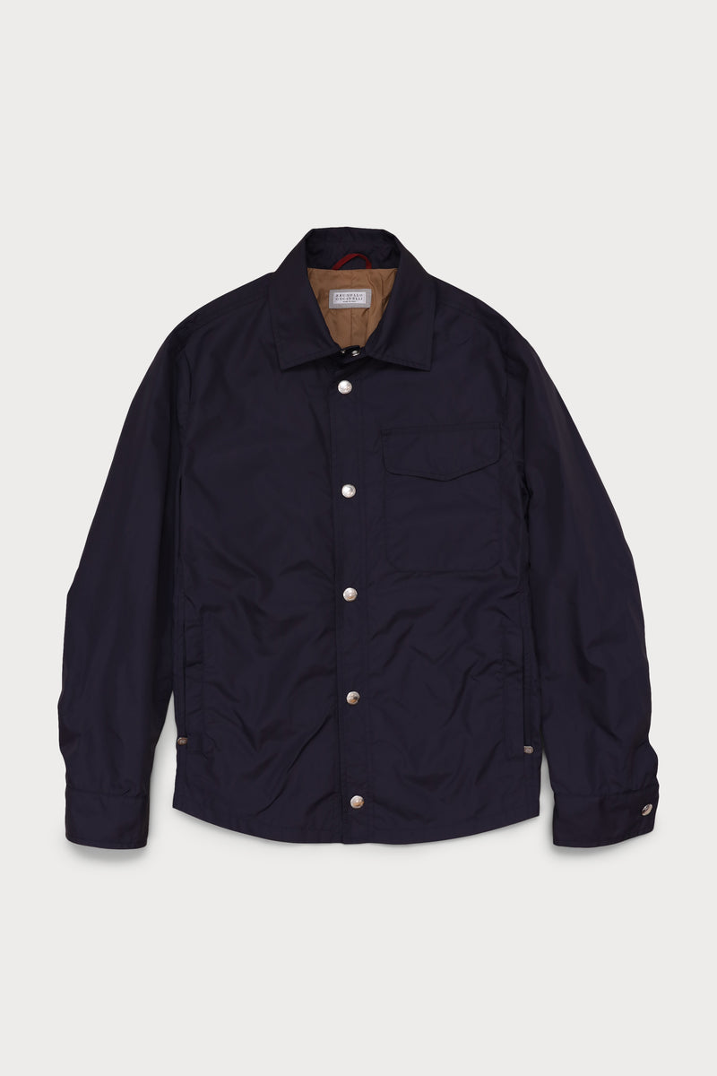 Water Resistant Shirt Jacket