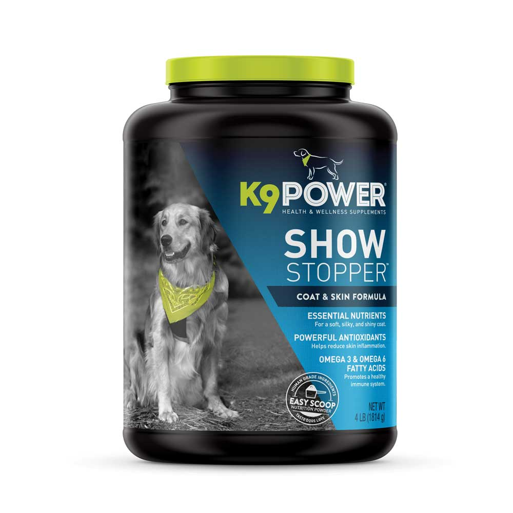 k9 show stopper pet supplement