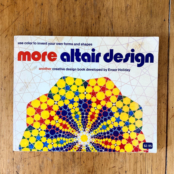Vintage adult colouring book