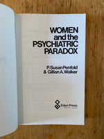 Women and the Psychiatric Paradox