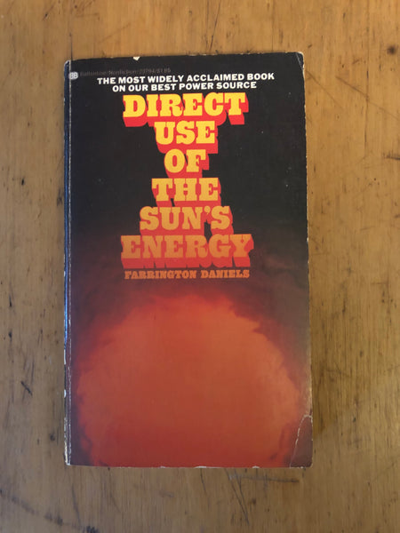 Direct Use of the Sun's Energy