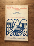 Black American Literature Fiction