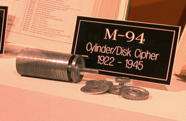 The M-94 at the National Cryptologic Museum