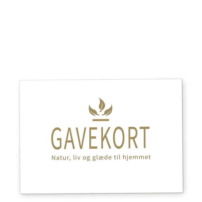 Giftcard for delivery in Denmark