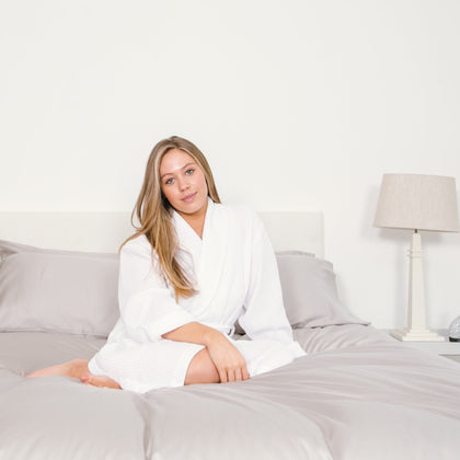 organic cotton white soft luxurious sheets
