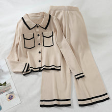 Load image into Gallery viewer, Women' casual turndown collar pure color loose suit