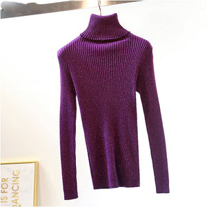 Solid Color Long Sleeve Sweater