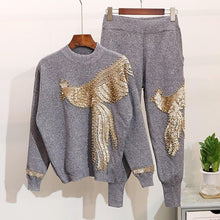 Load image into Gallery viewer, Fashion Casual Sweatshirt Two-Piece Set BJ108