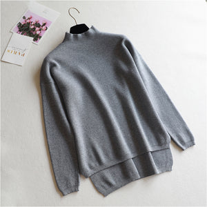 Women's casual long sleeve short sleeve sweater