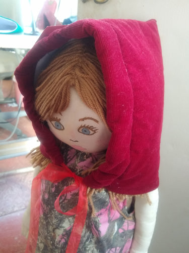 Child's Riding Hood Bonnet