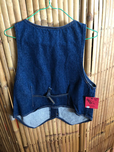 Women's Denim Vest