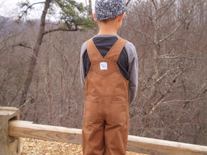 Boy's Denim Overalls