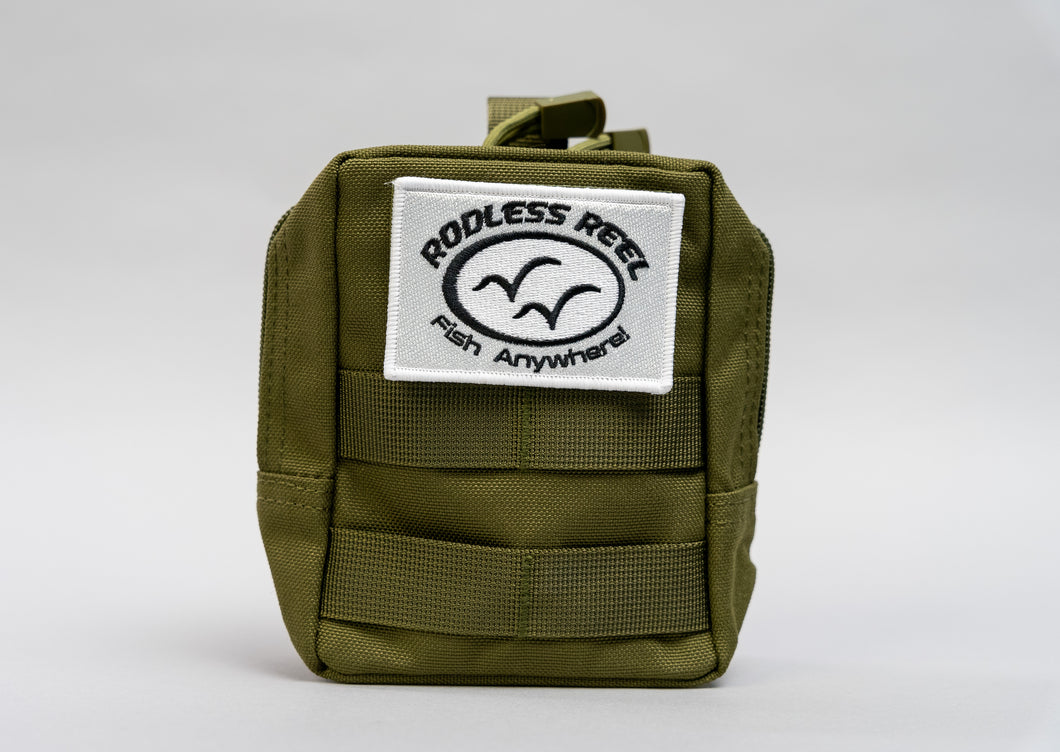 Rodless Reel - Carrying Bag (Olive)