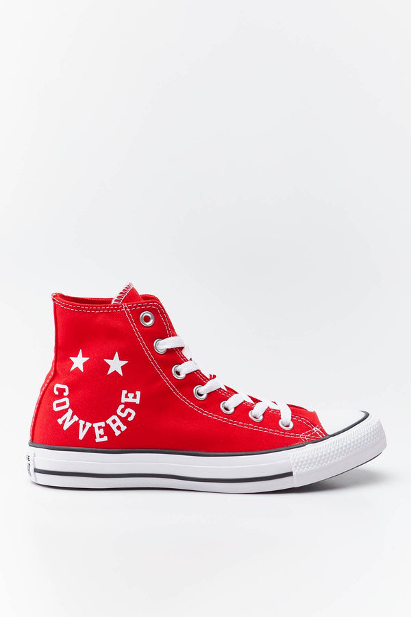 #00079  Converse obuv, tenisky CHUCK TAYLOR ALL STAR SMILE 069 UNIVERSITY RED