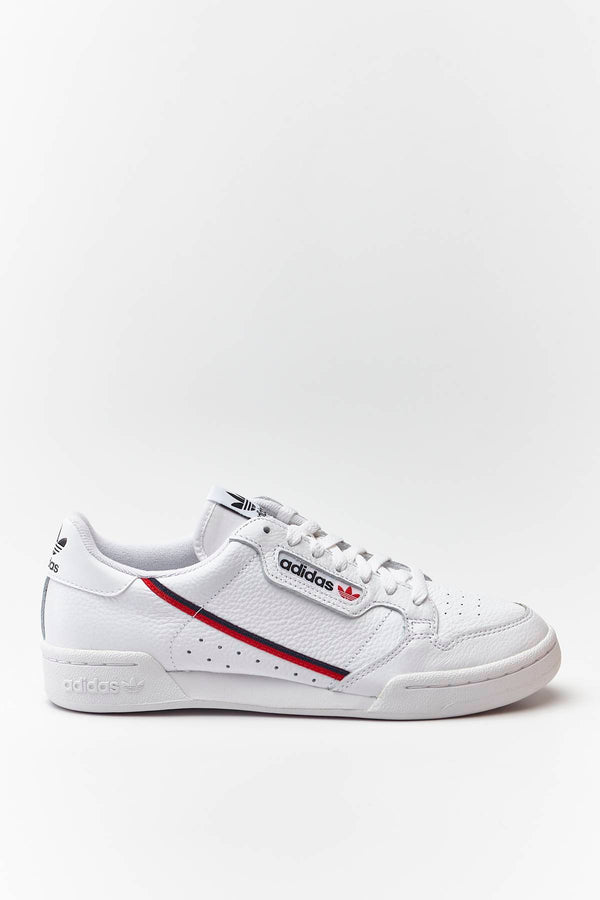 #00029  adidas obuv, tenisky CONTINENTAL 80 706 CLOUD WHITE/SCARLET/COLLEGIATE NAVY