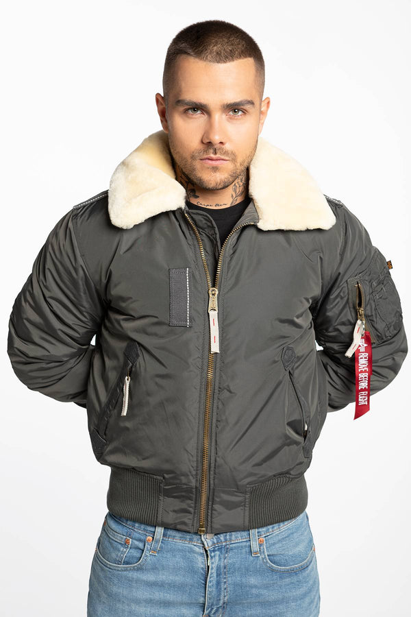 #00049  Alpha Industries oblečení, bunda Injector III 143104-136 GREY BLACK