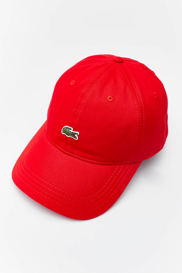 #00061  Lacoste doplňky CAP 240 RED
