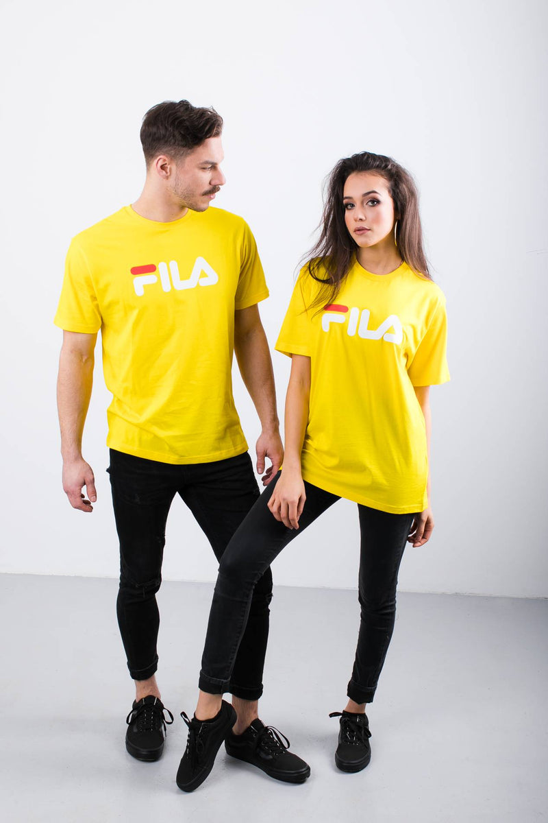 #00056  Fila tričko PURE SHORT SLEEVE SHIRT V51 EMPIRE YELLOW