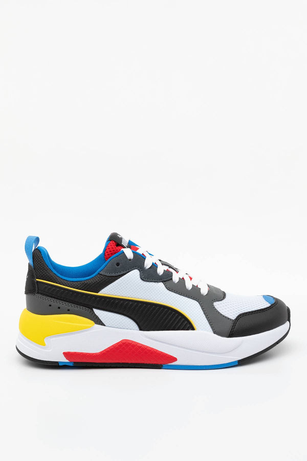 #00037  Puma obuv, tenisky X-RAY 03 WHITE/BLACK/DK SHADOW/RED/BLUE