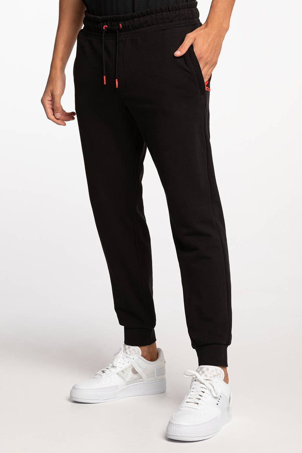 #00042  Guess oblečení, nohavice ADAM PANT M0BB37K7ON1-JBLK BLACK