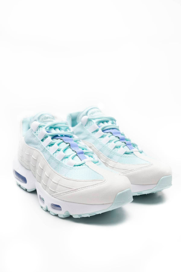 #00048  Nike obuv, tenisky WMNS AIR MAX 95 306 TEAL TINT/ROYAL PULSE/WHITE