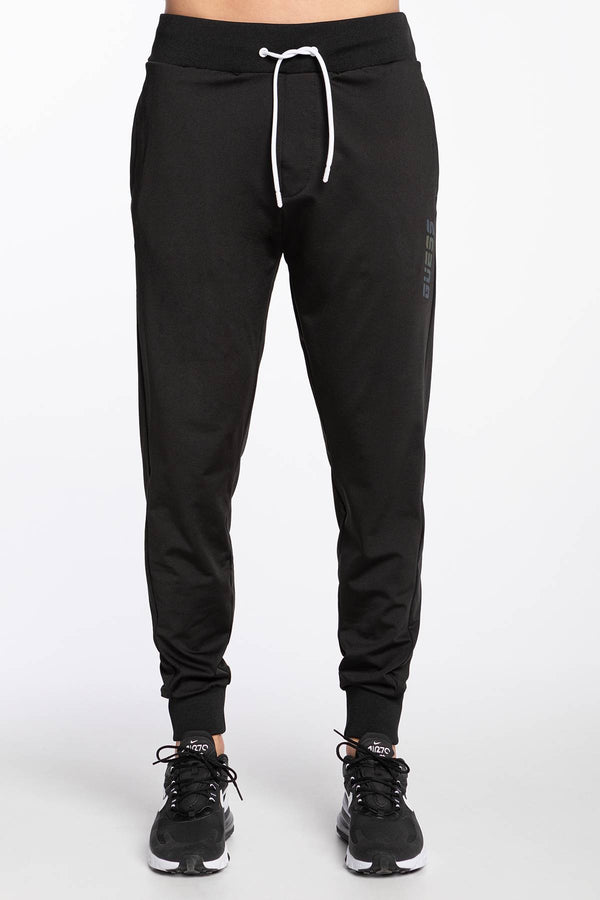 #00032  Guess oblečení, nohavice LONG PANT FLEECE U0BA08RJQ30-JBLK BLACK