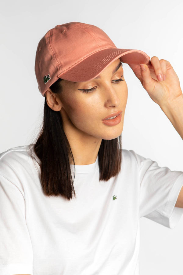 #00085  Lacoste doplňky CAP 5MM ROSE