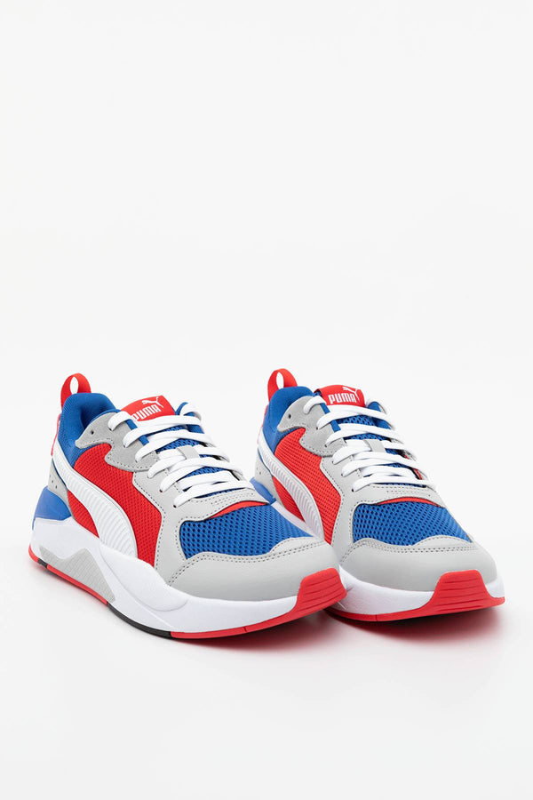 #00025  Puma obuv, tenisky X-RAY 04 ROYAL/WHITE/RED/HIGH RISE