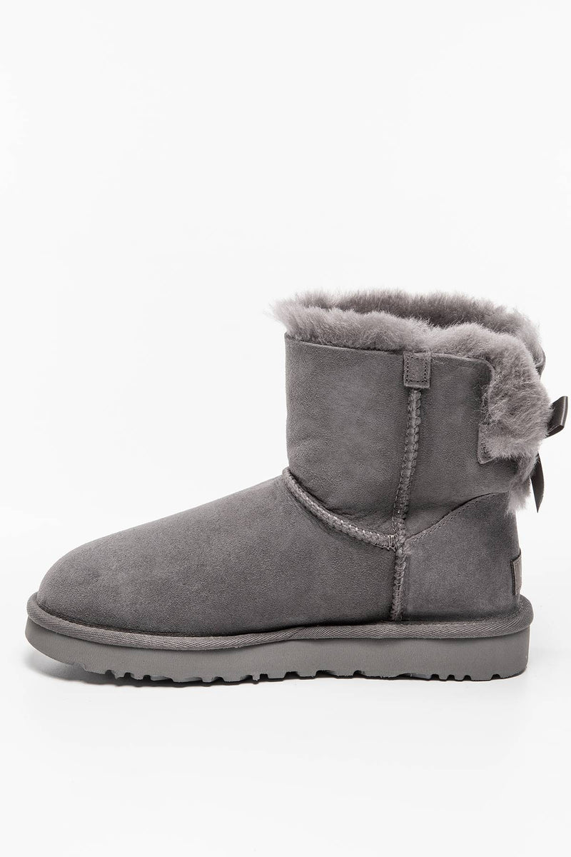 #00010  UGG obuv, sněhule MINI BAILEY BOW II GREY