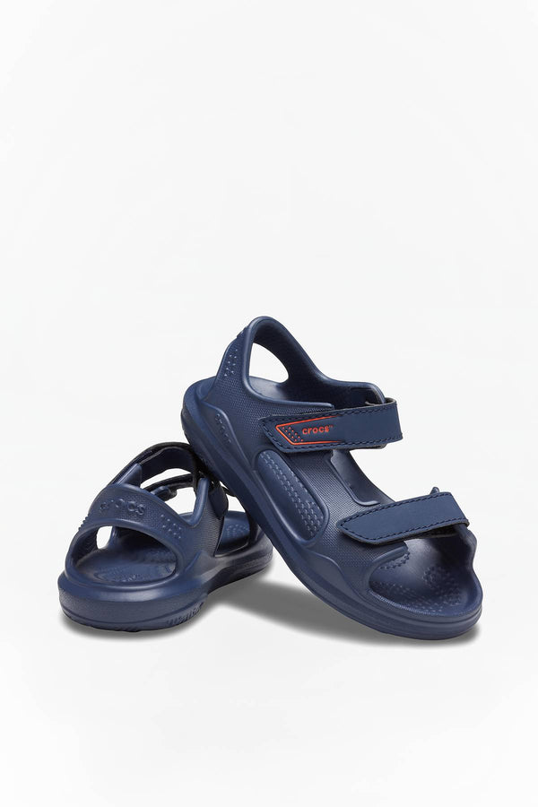 #00054  Crocs obuv SWIFTWATER EXPEDITION SANDAL KIDS NAVY/NAVY