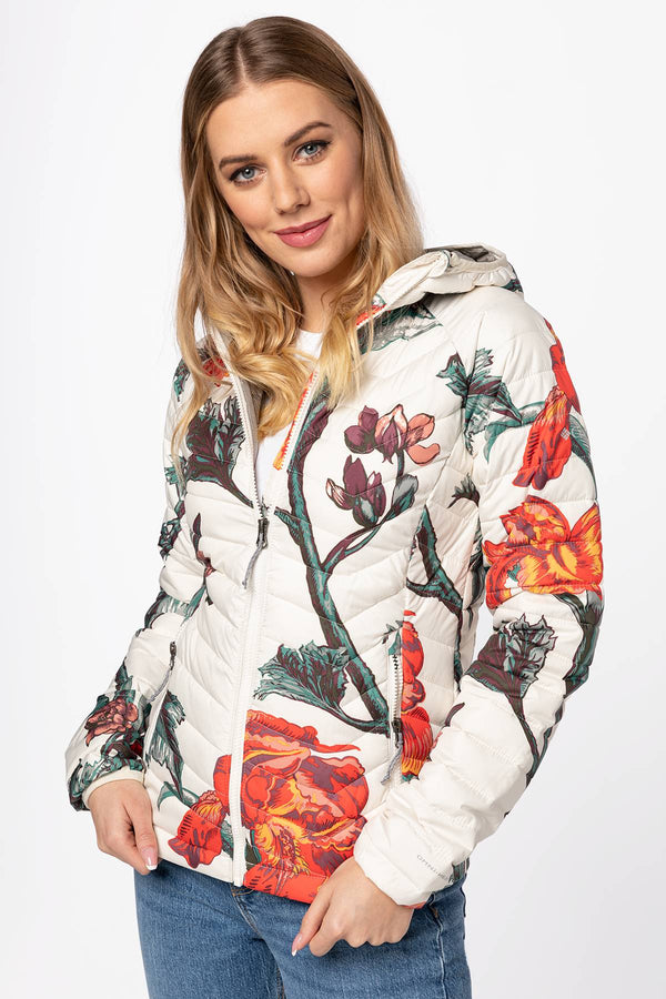#00002  Columbia oblečení, bunda Powder Lite Hooded Jacket 1699071-192 MULTICOLOR