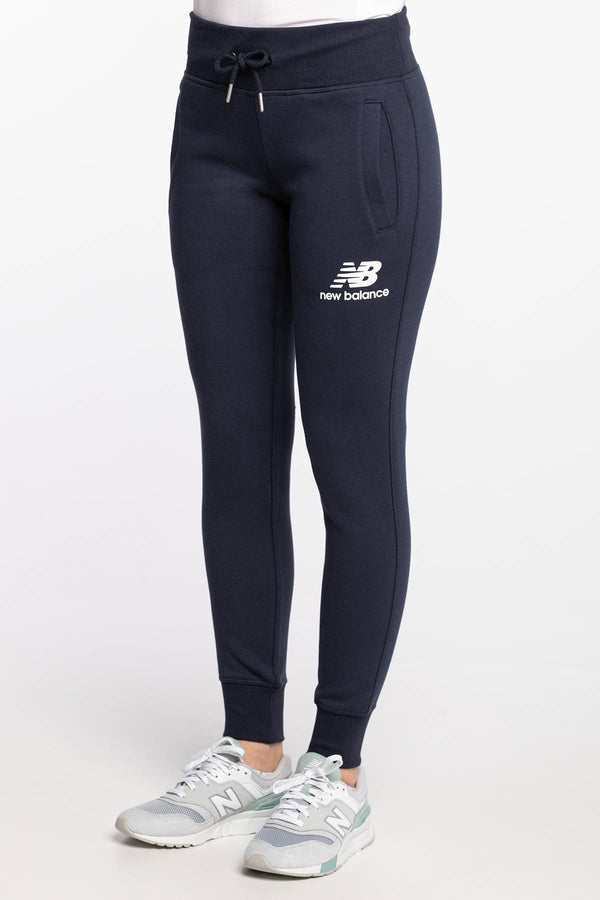 #00011  New Balance oblečení, nohavice ESSENTIALS FT SWEATPANT NBWP03532ECL NAVY